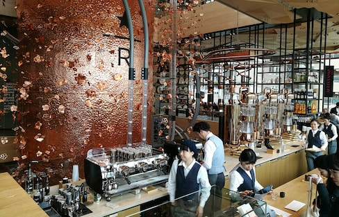 Awesome Shopping at World's Biggest Starbucks