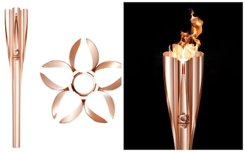 Sakura-Inspired Torch for the 2020 Olympics