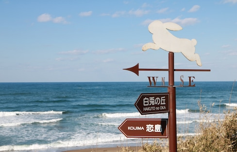 【鳥取自由行】不會開車的女孩看過來!外國人觀光客限定2,000日圓計程車周遊小旅行
