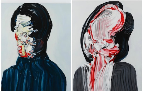 Eerie, Abstract Japanese Portraits