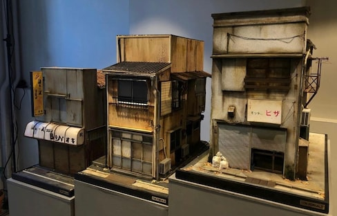 Miniature Storefronts Preserving Tokyo's Past