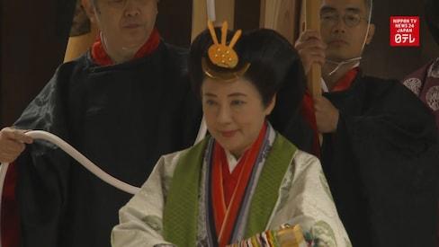 Imperial Couple Visits Ise Jingu