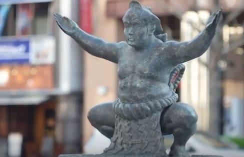 Explore the Sumo World at Kokugikan Street