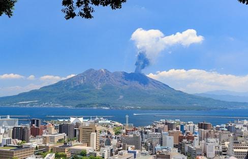 ชมภูเขาไฟของจริงที่ยังไม่ดับ ซากุระจิม่า