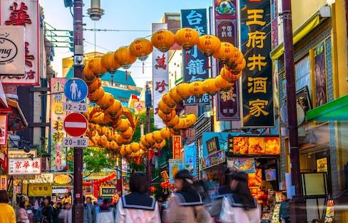 รวมย่านไชน่าทาวน์ในญี่ปุ่นที่จัดเทศกาลตรุษจีน