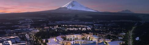 Toyota's Future City Near Mount Fuji