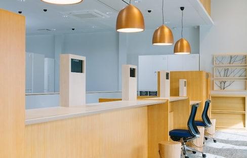 Kyushu Bank Redesigned Using Local Wood