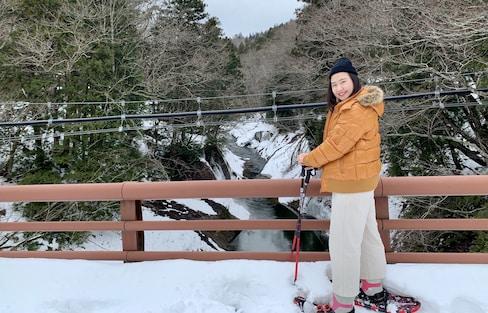 【日本青森】地方再造計畫!體驗雪鞋散訪森林&在野營風古民家泡足湯吃法式料理