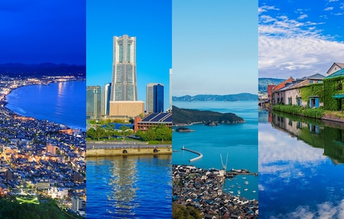 แนะนำเมืองท่าวิวสวยติดทะเลของญี่ปุ่น