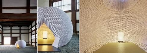 Astounding Origami Tea House