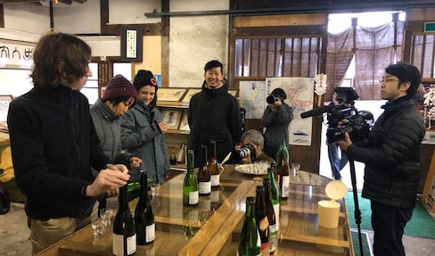 Sake Brewing in Saku