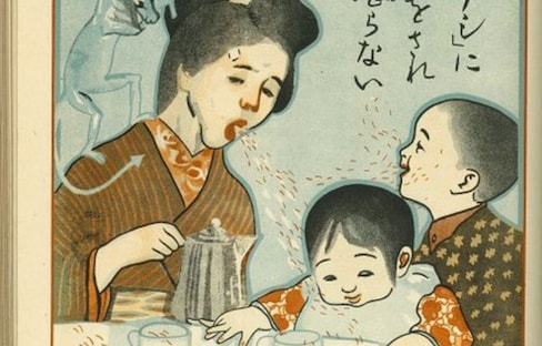 Japan's 1918 Pandemic Prevention Posters