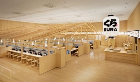 Putting a New Spin on Conveyor-Belt Sushi