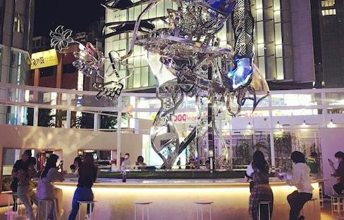 Shinjuku Station's New Permanent Installation