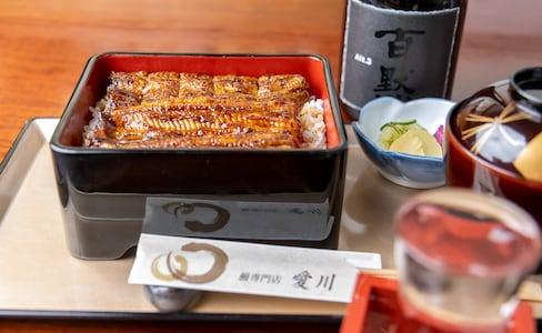 【食在東京】值得花上時間等待的「愛川」東西雙拼鰻魚飯
