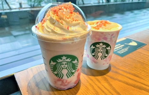 Starbucks Welcomes Spring '21 with New Flavors