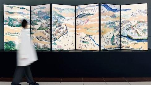 Ancient Ukiyo-e Battle Comes to Life