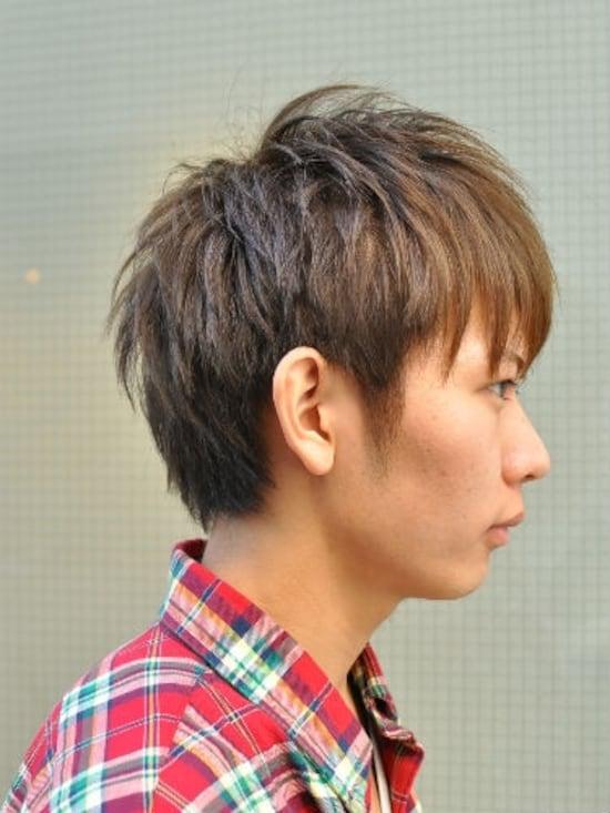 メンズ ストレート 髪型