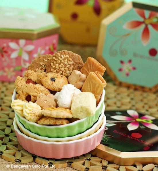 画像:シンガポール菓子とクッキー専門店「ブンガワンソロ」 [グルメ ...