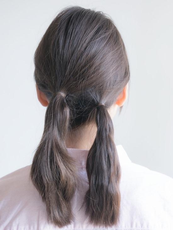 画像 10/24 :三つ編みシニヨンのやり方!髪を巻かない簡単ヘア