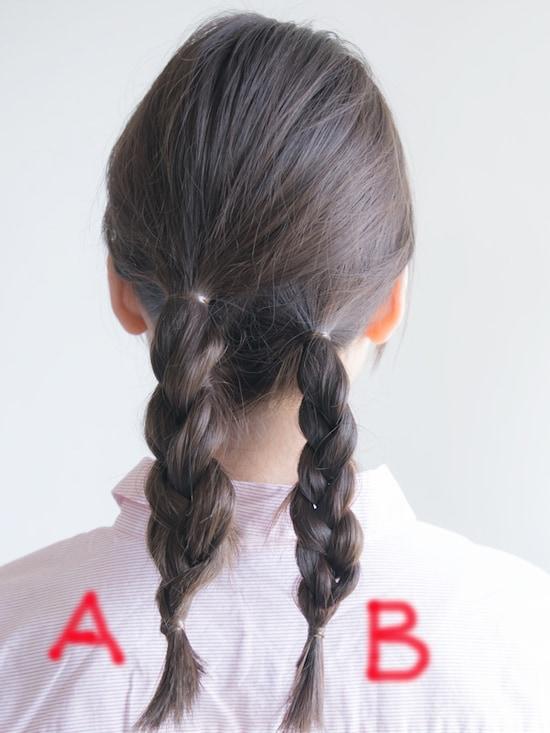 画像 23/24 :三つ編みシニヨンのやり方!髪を巻かない簡単ヘア