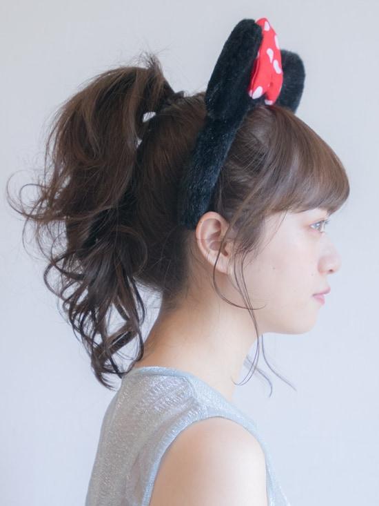 画像 7/37 :【ディズニーの髪型】簡単・崩れない可愛い