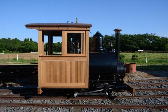7号機関車のサイドビュー