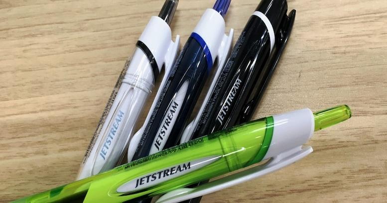 我慢する人生は終わり!英雄「ジェットストリーム」によるボールペンの革命