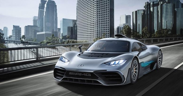 最高速350km/h超! F1マシンと同じ心臓を持つハイパーAMG