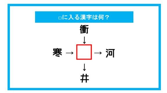 【漢字穴埋めクイズ】□に入る漢字は何?(第154問)