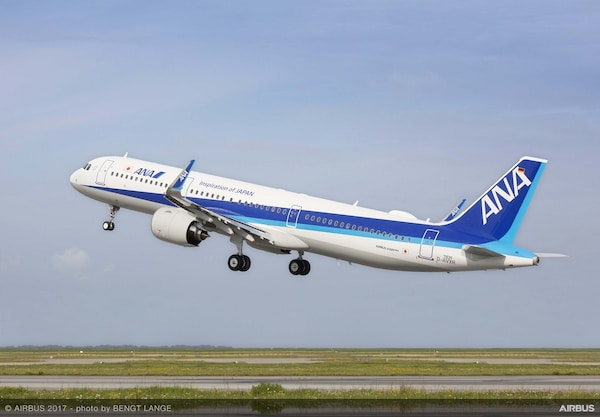 Anaが新機材 A321neo を9月中旬に国内線で導入へ どんな飛行機 All About News