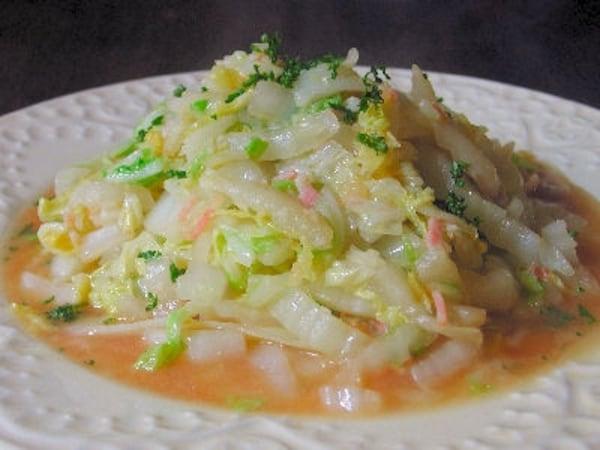 白菜 ベーコン 炒め