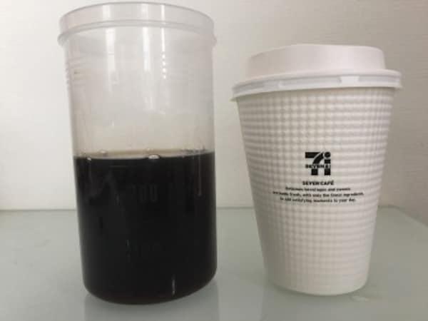 セブン-イレブンのコーヒーLは260mlだった