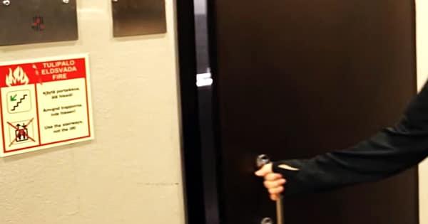フィンランドのエレベーター