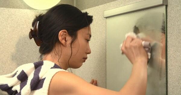 浴室の鏡の曇り 01