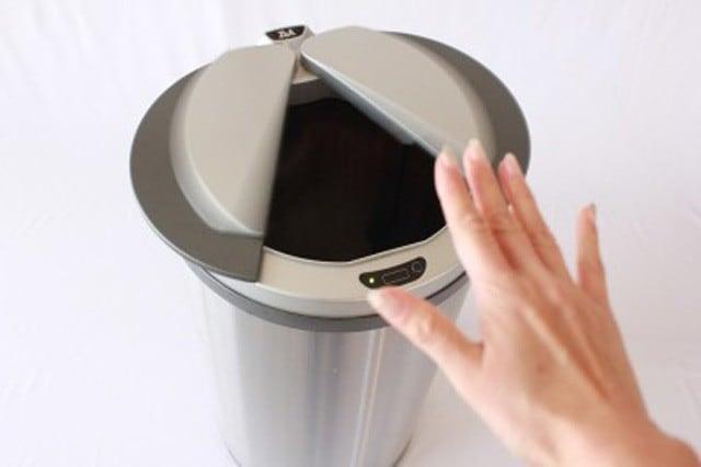 自動開閉するゴミ箱「ZitA(ジータ)」