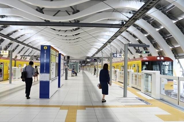 新しくなった銀座線の渋谷駅