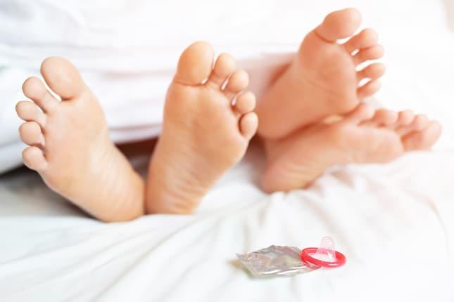 コンドームは正しく使用しないと避妊率が低下する