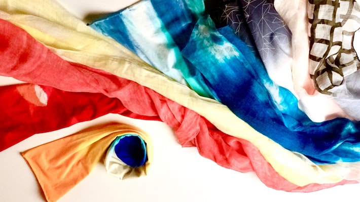 Sumida Textiles—Hand-dyed and in Demand