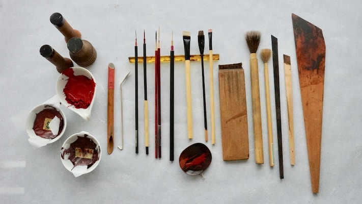 Kaga Lacquerware—A 400-Year Tradition