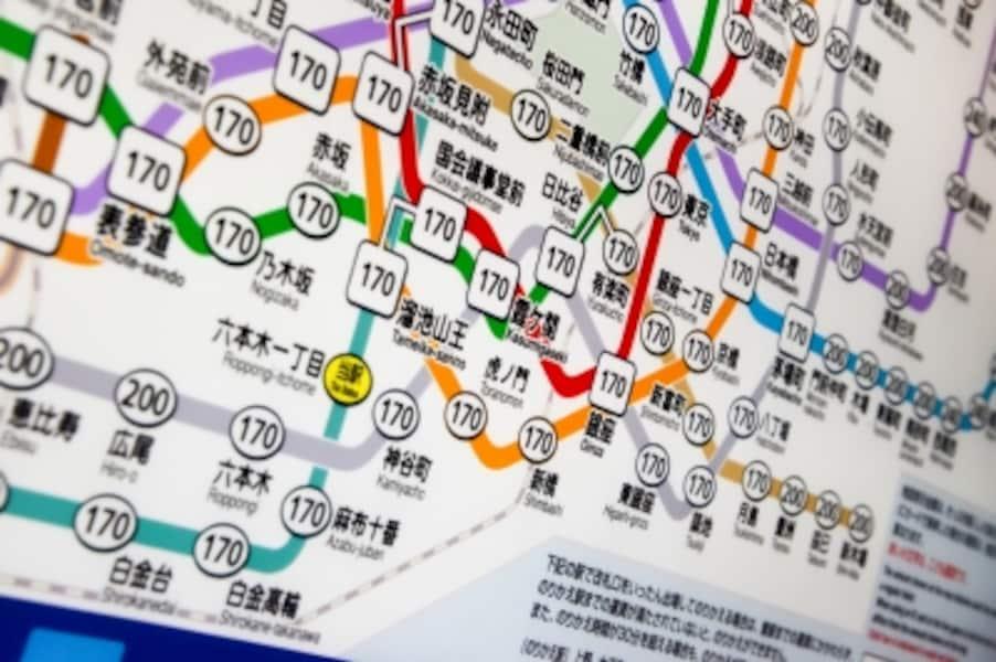 東京メトロは沿線により混雑率に差がある!