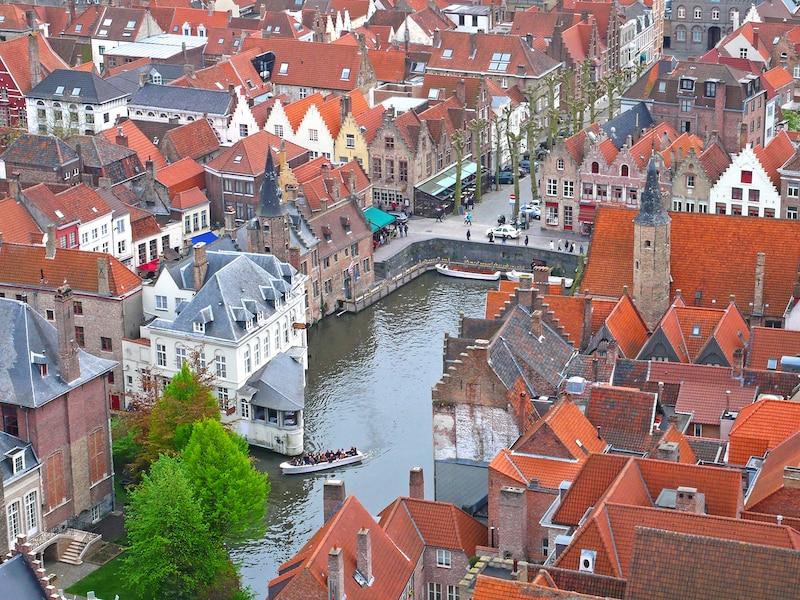 ブルージュ歴史地区:運河が美しいベルギーの世界遺産