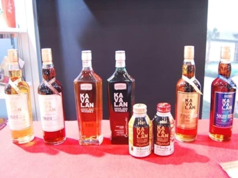 台湾ウイスキー「カバラン(KAVALAN)」種類や飲み方