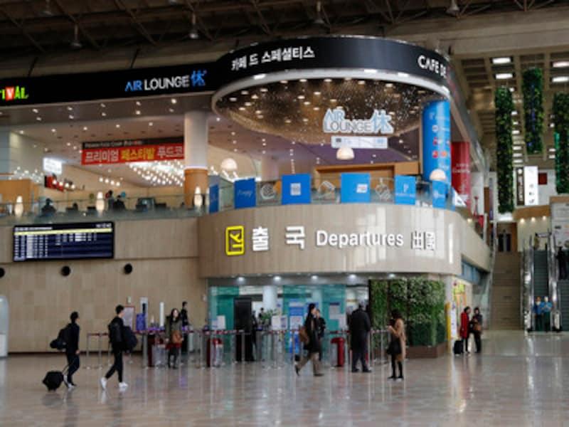 金浦国際空港まるわかりガイド! 免税店や両替など