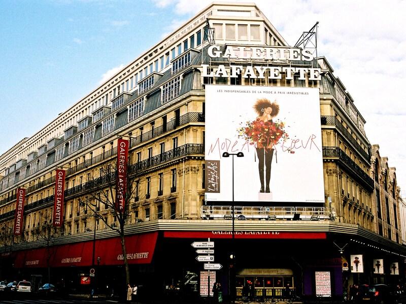 ギャラリーラファイエット百貨店/パリのデパート