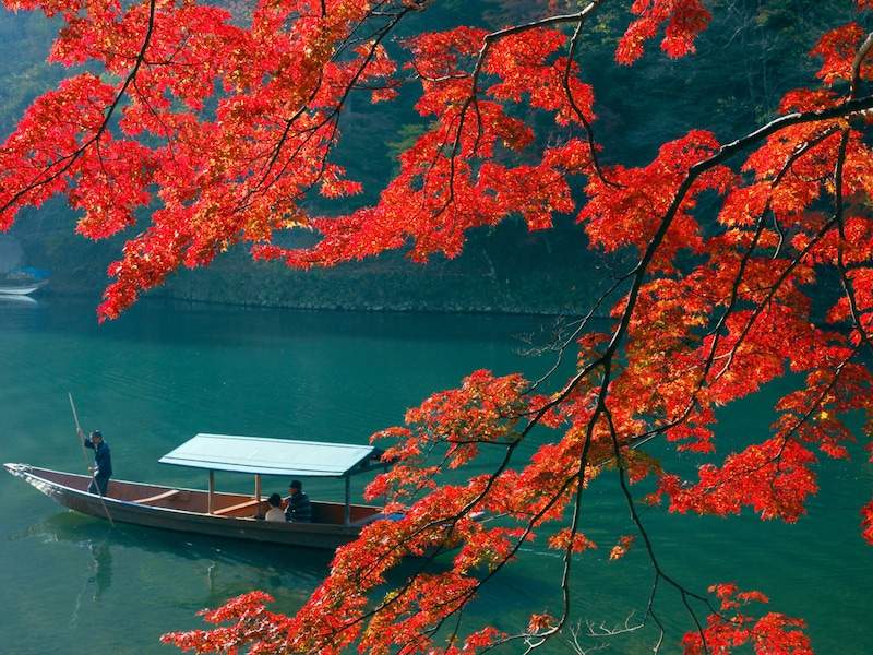 京都の紅葉名所2018 ランキングBEST5とおすすめ温泉