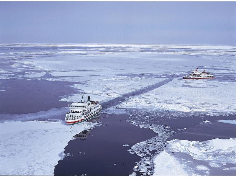 北海道の冬を堪能!網走に流氷を見に行こう