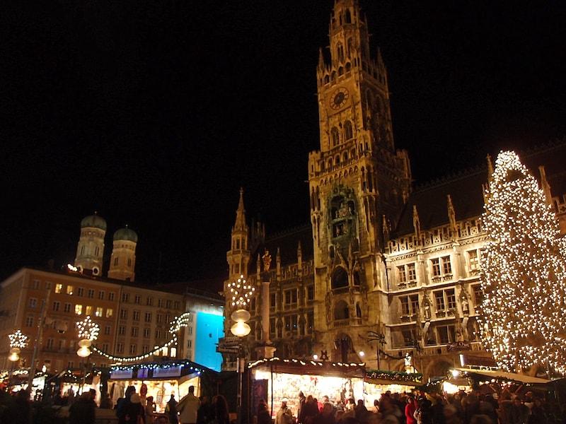ミュンヘンのクリスマスマーケットは多彩さが魅力