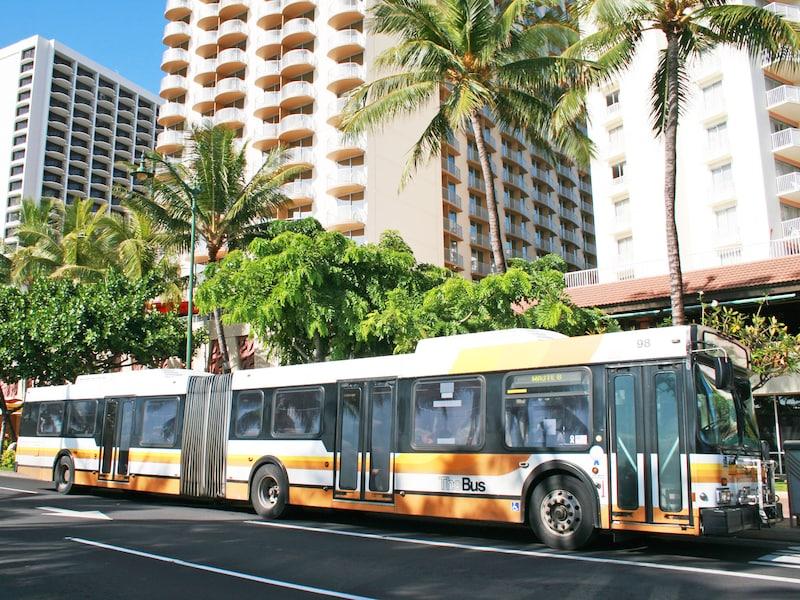 ザ・バス(The Bus)の乗り方・降り方/ホノルル