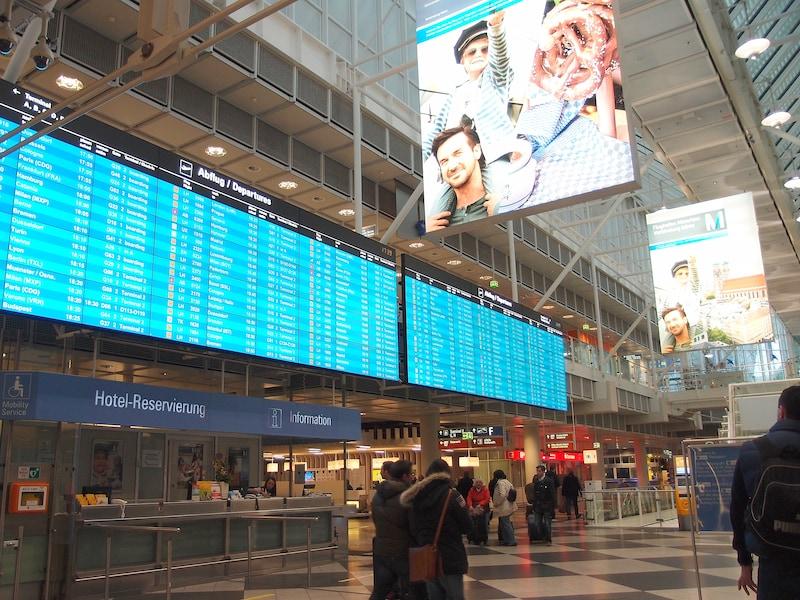 ミュンヘン空港から市内、中央駅へのアクセス方法